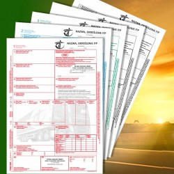 CMR 5 z nadrukiem, CMR Międzynarodowe Listy Przewozowe, drukidlatransportu.pl